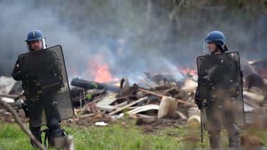 2.500 gendarmes sont déployés à Notre-Dame-des-Landes.