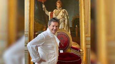Le chef cuisinier Christophe Leroy.
