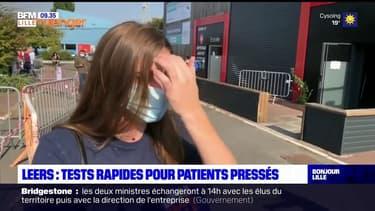 Leers: des tests rapides pour les patients rejetés de Lille