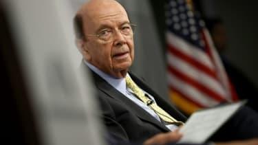 Le secrétaire américain au Commerce Wilbur Ross