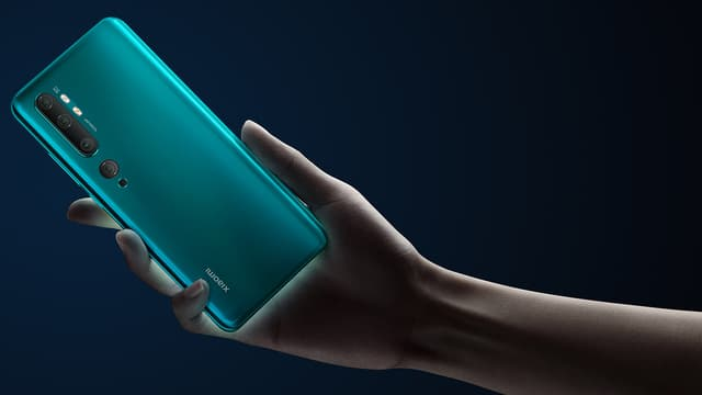 Le Xiaomi Mi Note 10