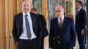 Bernard Cazeneuve (Budget) et Pierre Moscovici (Economie et Finances) vont présenter le projet de budget 2014 pour la France, mercredi 25 septembre.