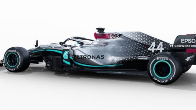 La monoplace Mercedes pour 2020