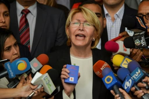 Luisa Ortega, la procureure générale, le 8 juin 2017 à Caracas
