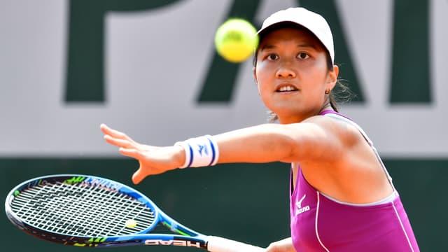Harmony Tan à Roland-Garros, le 24 mai 2018