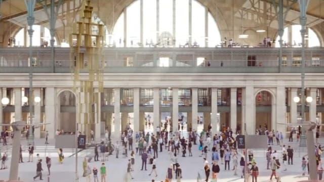 Le projet de rénovation de la gare du Nord.