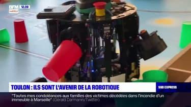 Des étudiants de l'université de Toulon récompensés à la Robocup