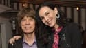 Mick Jagger et L'Wren Scott en novembre 2013 à Los Angeles