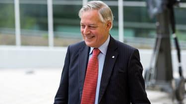 Christian Noyer est l'ancien gouverneur de la Banque de France