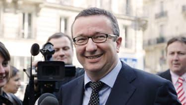 Christian Paul, député de la Nièvre (PS), est en première ligne des députés frondeurs, ici le 3 mai 2011.
