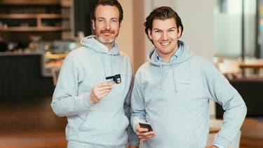 Les deux fondateurs (Maximilian Tayenthal à gauche sur la photo et Valentin Stalf, à droite sur la photo) ont lancé Number 26 il y a un an.