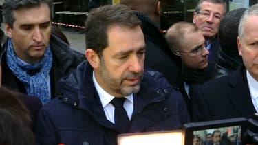 Christophe Castaner s'est rendu dans le 16e arrondissement ce mardi.