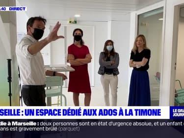 """Marseille: """"L'Appart"""", un espace dédié aux ados à l'hôpital de la Timone"""