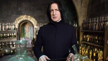 Alan Rickman dans la peau de Severus Rogue