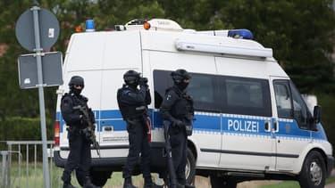 La police allemande a découvert par hasard vendredi à Recklinghausen, dans l'ouest du pays, le garçon de 15 ans. PHOTO AFP
