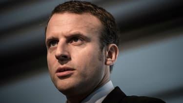 Emmanuel Macron le 26 octobre 2016 à Paris