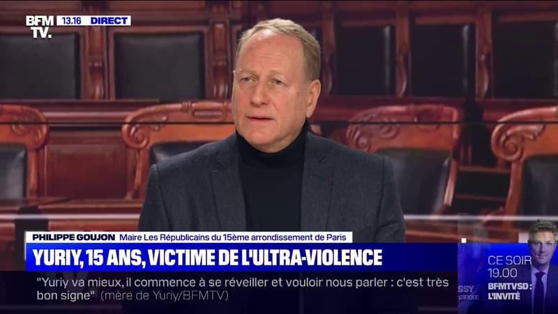 """Philippe Goujon (LR) sur l'agression de Yuriy: """"C'est sans précédent dans le 15e [arrondissement de Paris] et d'une barbarie inouïe"""""""