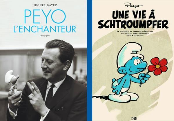 Deux livres retracent la vie de Peyo