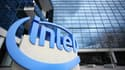Le logo d'Intel.