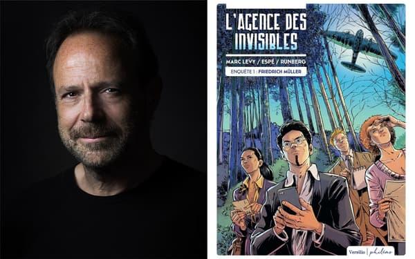 """Marc Lévy se lance dans la BD avec """"L'Agence des Invisibles"""""""