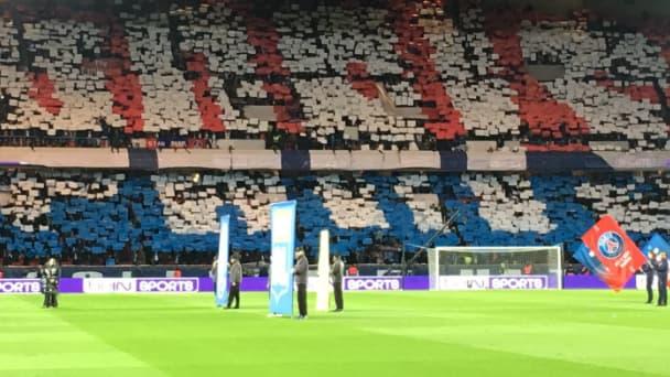 Le Parc des Princes a bien lancé la rencontre contre l'OL, ce dimanche à Paris.