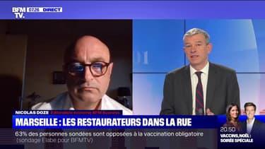 Marseille: les restaurateurs dans la rue - 26/11