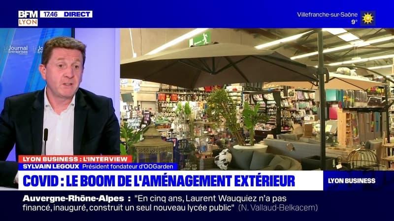 Lyon Business: l'émission du 13/04 avec Sylvain Legoux, président fondateur d'OOGarden