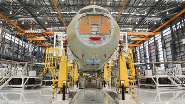 """A Mobile en Alabama, qui participe notamment à l'assemblage de l'A220 et de l'A320, """"la pause dans la production commencera cette semaine et est prévue de durer jusqu'au 29 avril"""