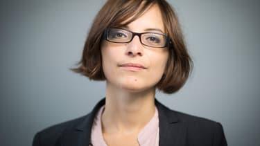 Célia Blauel, nouvelle adjointe à la mairie de Paris en charge de la Seine.