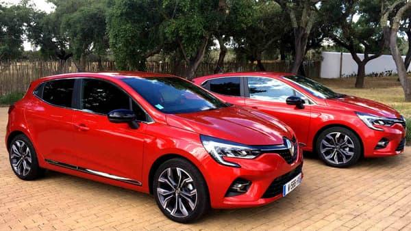 Deux nouvelles Renault Clio 5