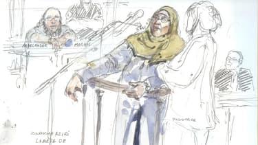 Zoulikha Aziri, la mère du terroriste, a défendu son fils Abdelkader jugé pour complicité d'assassinat.