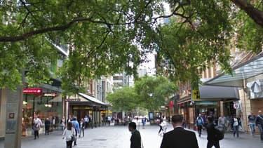 Les militants étaient postée à proximité du plus grand centre commercial du pays
