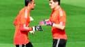 Keylor Navas et Iker Casillas