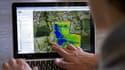 Les données recueillies par drones agricoles (ici Airinov) aboutissent à une cartographie précise des parcelles.