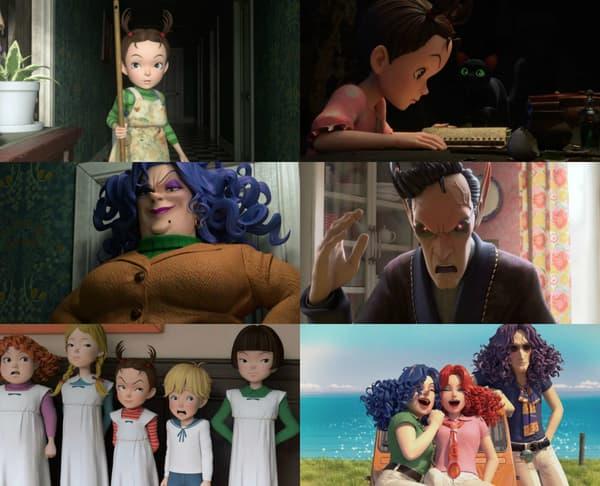 Des images du nouveau Ghibli, Aya et la Sorcière