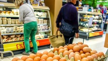 """Les premiers ovoproduits """"made in France"""" sont apparus ce mercredi dans la liste des produits concernés par le scandale des oeufs contaminés."""