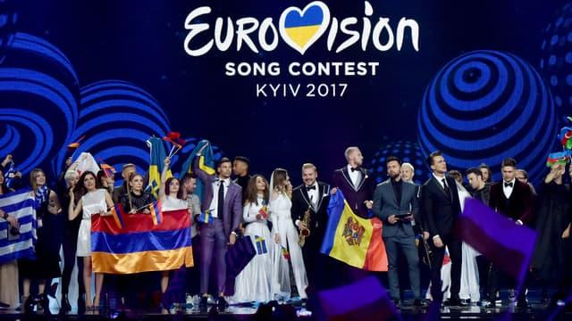 Le concours de l'Eurovision 2017 a été organisé à Kiev, en Ukraine