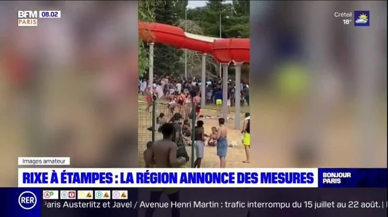 Rixe à Étampes: la région annonce des mesures de renforcement de la sécurité sur la base de loisirs