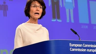 La Commissaire européenne en charge des affaires sociales