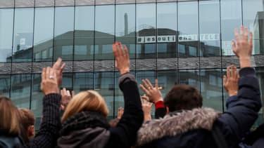 Les salariés d'iTélé ont entamé ce lundi leur quatrième semaine de grève