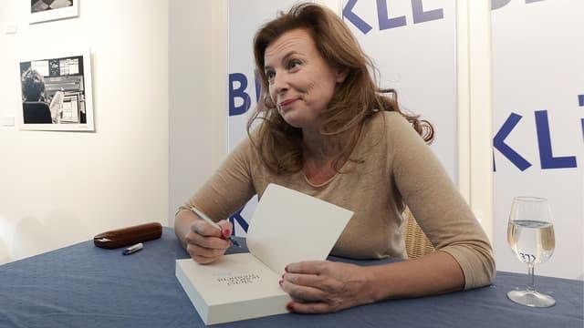 Valérie Trierweiler en dédicace à la librairie Kléber de Strasbourg, le 23 octobre 2014.