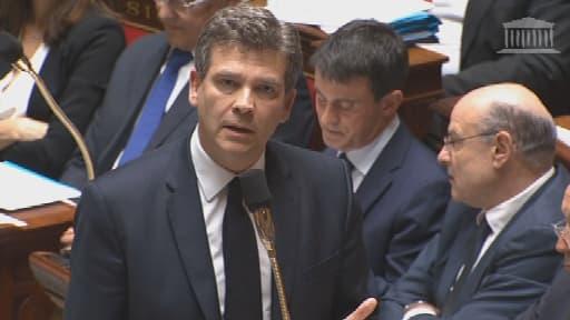 Arnaud Montebourg a piqué une colère contre le PDG d'Alstom à l'Assemblée.