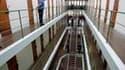 Dans la prison de Saint-Martin-de-Ré, sur l'île de Ré. Les prisons françaises sont vivement critiqués dans le rapport annuel du Contrôleur général des lieux de privation de liberté, Jean-Marie Delarue, en raison notamment du manque d'activités proposées a