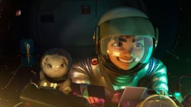 """Le film d'animation """"Over The Moon"""", nouvelle production de Netflix."""