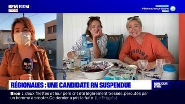 Régionales en Auvergne-Rhône-Alpes: une candidate RN suspendue