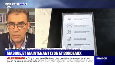 """Masque obligatoire à Lyon: le vice-président de la Métropole attend que le préfet """"donne le signe de mise en marche"""""""
