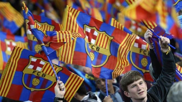 L'écusson du FC Barcelone