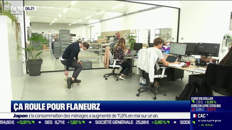 La France qui résiste : Ça roule pour Flaneurz, par Justine Vassogne - 06/07
