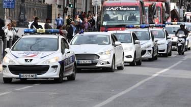 Les policiers dénoncent un parc automobile obsolètes et inadaptés.