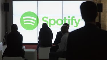 Le logo de Spotify.